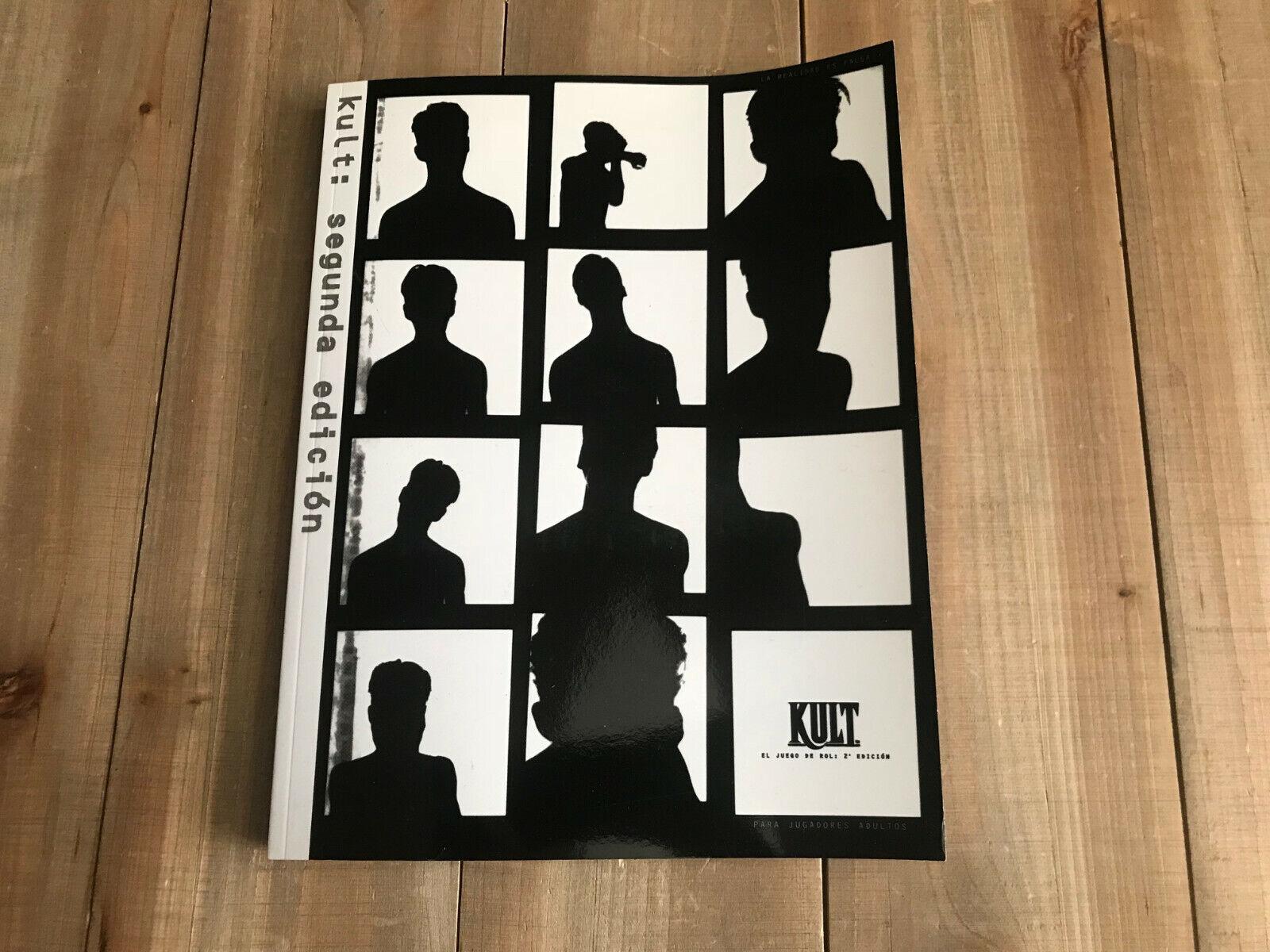 KULT - Básico Segunda Edición - juego de rol - La Factoria Ed. Español