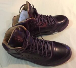 b891569391954 Nike Air Jordan 5 V Retro Premium SZ 11 5 Bordeaux Pinnacle LUX ...