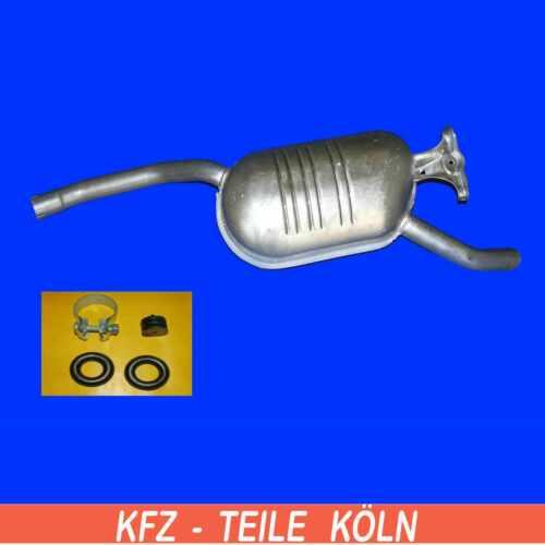 MERCEDES W124 C124 230CE  200 230 200E 230E 200D 250D Endschalldämpfer Auspuff