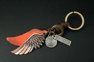 AuPra-Angel-Love-Wing-Keyring-Leather-Vintage-Keychain-Key-ring-Gifts