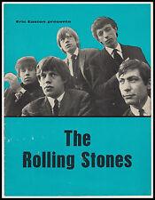 Original Vintage ROLLING STONES 1964 UK Tour Concert Programme