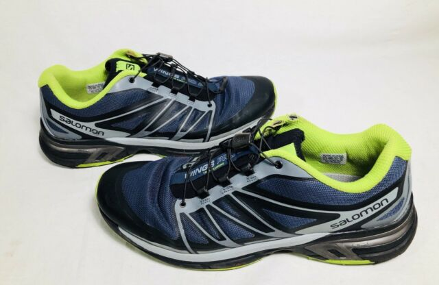 Salomon Mens Wings Pro 2 Trail Running Shoes Size 11.5