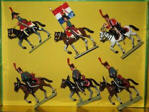 Boite Lucotte Neuve = 6 Cavaliers Artilleurs Hollandais Cousue En