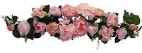 35 Swag Pink Centerpieces Silk Wedding Flowers Chuppah Gazebo Arch Decor