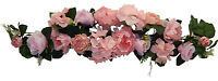 35 Swag Pink Centerpiece Silk Wedding Flowers Roses Gazebo Arch Decoration