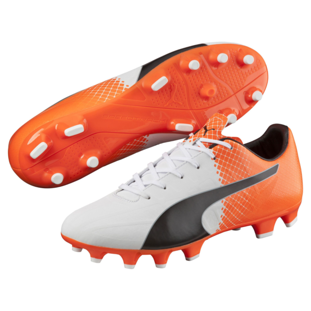 Puma Mens Evospeed 4.5 Tricks FG Cleated Soccer Shoe Orange 10 #NGR2N M391
