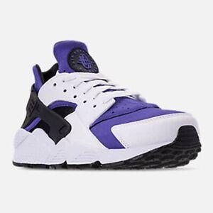sports shoes 66bf6 2fbf1 Image is loading Nike-Air-Huarache-Run-SE-White-Black-Persian-
