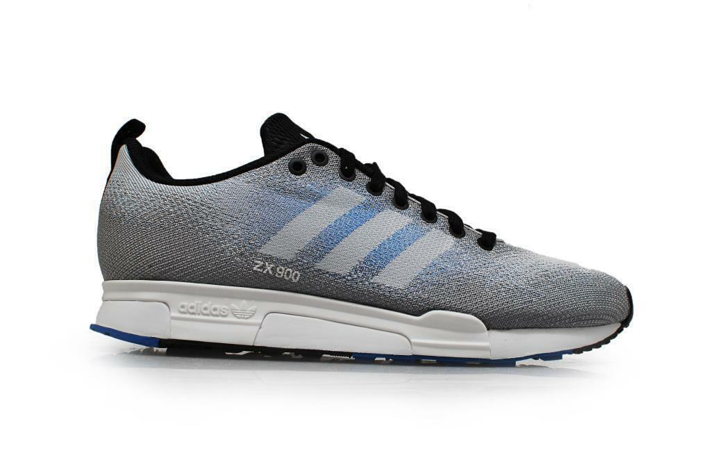 Mens ADIDAS ZX 900 WEAVE Grey bluee Textile Casual Trainers B26526 RRP .99