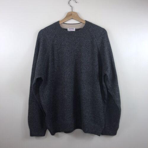 Gran Sasso Men's Crew Neck Wool Cashmere Sweater X