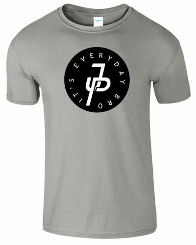 JPaulers JP Mens Tshirt It/'s Every Day Bro Inspired Youtuber Womens Top TShirt