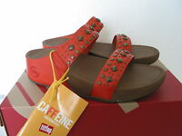 Ladies Fitflop Biker Chic Leather Sandals Various Sizes