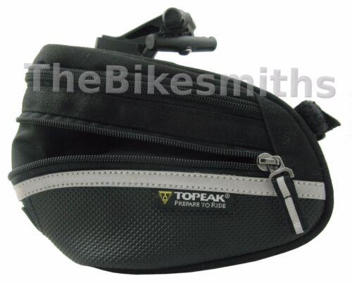 Topeak Wedge Pack II Large Bike Seat saddle Bag Pack TC2273B Clip-on w// cover