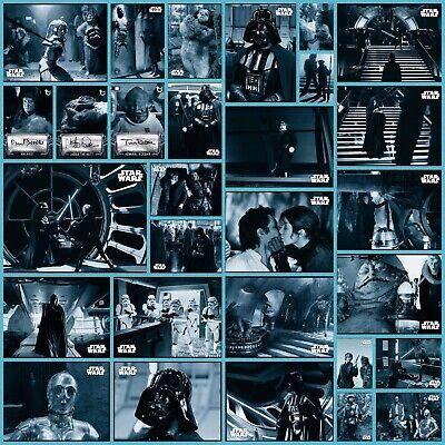 32 Card Set Wave 2 Blue Base /& Sig Topps Star Wars Trader ROTJ Black /& White