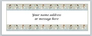 30 Personalized Return Address Labels Angels Buy 3 get 1 free (bo 313)