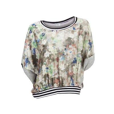 Shirt, Druckshirt, Rick Cardona, Gr.36,44,46, Rückseite:56%Viskose,38% Polyester