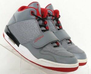 9379da1becf Nike Air Jordans Flight Club 90's Gray High-top Sneaker 602661-221 ...