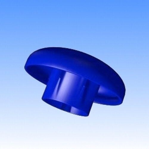 Trampolin Blaue Endkappen 6 St.für Stangen Ø 25mm Sicherheitsnetz  Randabdeckung