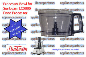 Sunbeam-LC5000-LC6000-Food-Processor-Bowl-LC50011-NEW-GENUINE-IN-STOCK