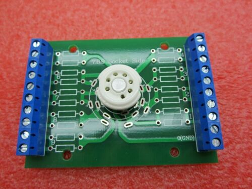 one 7pin B7G tube test diy Experiment prototyping pcb for ec92 6x4 6au6 ez90