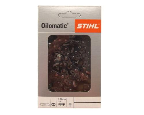 2x63cm Stihl Rapid Micro Kette für Oleo-Mac 981 Motorsäge Sägekette 3//8 1,5