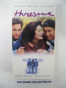 Threesome-Lara-Flynn-Boyle-Stephen-Baldwin-Josh-Charles-VHS-Movie