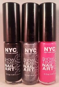 Nyc New York Color Show Time Nail Art Creation Buy 2 Get 3 Free Add
