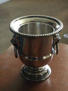 Vintage Viners Silver Plated Minature Ornamental Wine Cooler