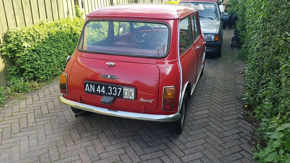 Morris Mascot, Mini 850, Benzin