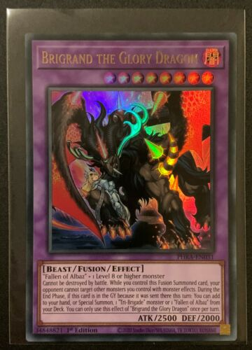 Brigrand the Glory DragonPHRA-EN031Ultra Rare1stPhantom Rage YuGiOh