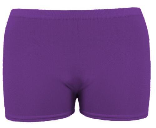Da Donna Hot Pants Pantaloncini Da Palestra Yoga Danza CICLO SPORT FITNESS Stretch Mini Shorts
