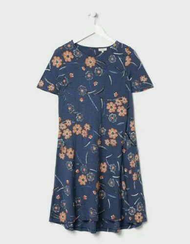 FATFACE SIMONE FLORAL DRESS SIZE 12 BRAND NEW WITH TAGS ON.