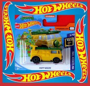 Hot-Wheels-2020-fiesta-Wagon-Turtles-Nickelodeon-147-250-neu-amp-ovp