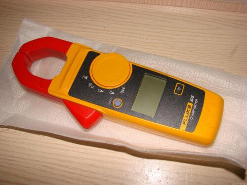 Fluke 303 Digital Clamp Meter Current Voltage Multimeter 1000A W// TL75 Test Lead