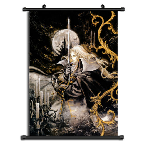 6269 Castlevania Symphony of the Night Home Decor Wall Art Poster Scroll A