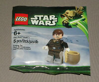 Star Wars Bagged Han Solo (hoth) Minifigure Lego 5001621 2013 Polybagged