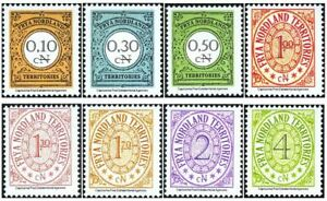 "Micronation ""Frya Nordland Territories"" - permanent values No. 2-9 set mnh"