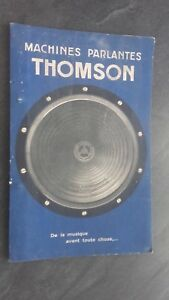 Catalogo-Comercial-Maquinas-Talking-Thomson-Houston-Tarifa-1931