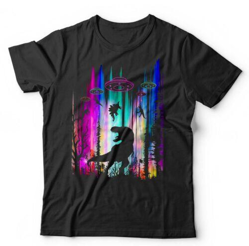Dinosaurs /& Aliens Tshirt Unisex /& Kids UFO Ancient Aliens