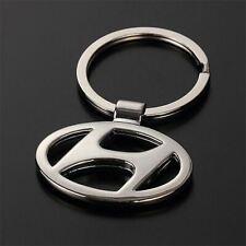 New Genuine Hyundai Santa Fe Metal /& Black Leather Keyring 2B950ADU00 OE