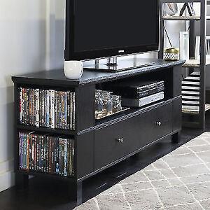 Walker Edison Black Tv Stand For Tvs Up To 60 Ebay