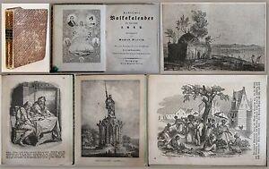 Nieritz -Sächsischer Volkskalender für das Jahr 1842+43 -Landeskunde Sachsen xz