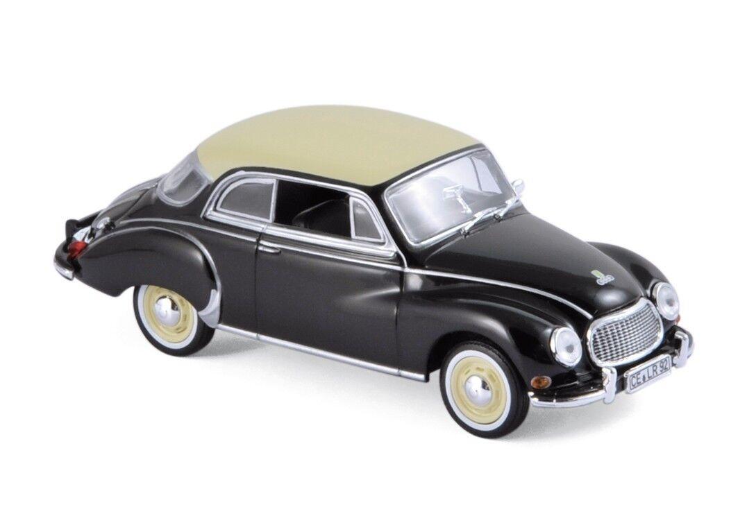 DKW 3 6 noir 1958 1 43 Norev