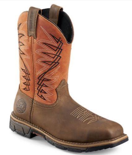 NIB Mens Irish  Setter Square Steel Toe Pull On 83910 Cowboy Boots  best offer