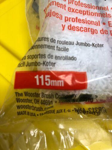 """Wooster RR312 4-1//2/"""" Jumbo-Koter Polar Bear Roller Cover 2Pk LOT OF 4"""