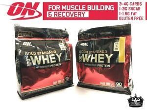 Optimum-Nutrition-100-Gold-Standard-Whey-Protein-6-lbs-90-Serves-VANILLA-SALE
