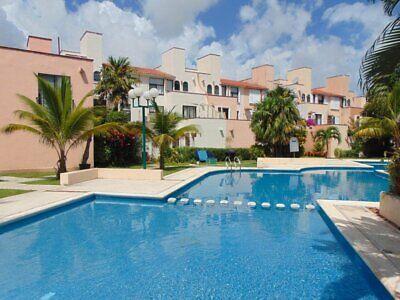 Se Renta Casa Amueblada en Cancun Totalmente Equipada Sm. 18 Residencial Ibiza Seguridad 24/7