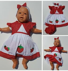 Baby kleid rot 74