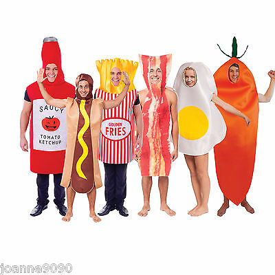 Adult Mens Ladies Womens Funny Stag Party Food Bottle Fancy Dress Costume Outfit