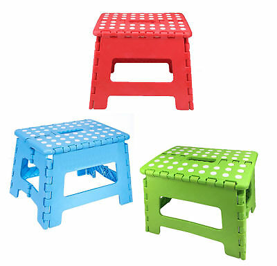 Home Folding Step Stool For Kids Adults 12 Quot Heavy Duty