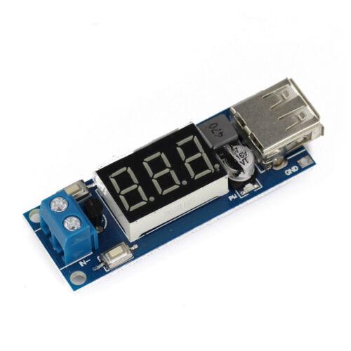 DC-DC Step Down Wandler 6.5v12V~40V auf 5V  Converter Leistungsmodul USB